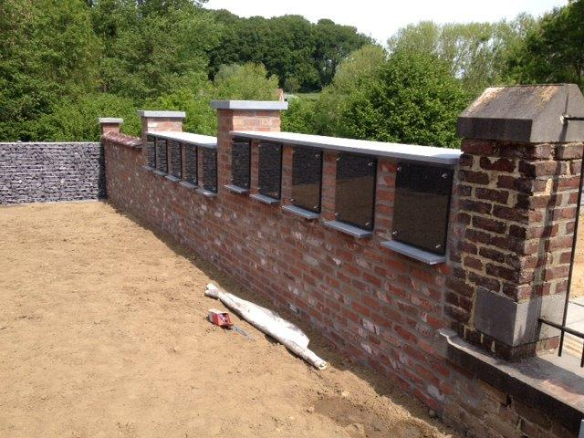 Columbaria silex natuursteen prijs offerte - Bekleed beton ...