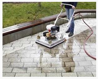 terras reinigen met schoonmaakazijn