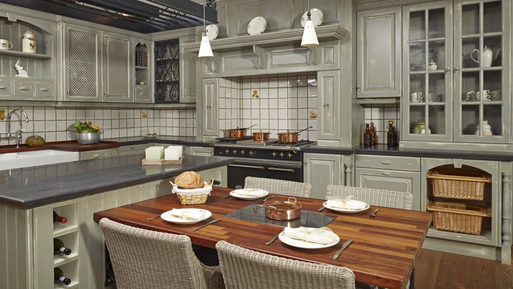 V o lux design keukens badkamers maatwerk balen geel keukens - Hoe dicht een open keuken ...