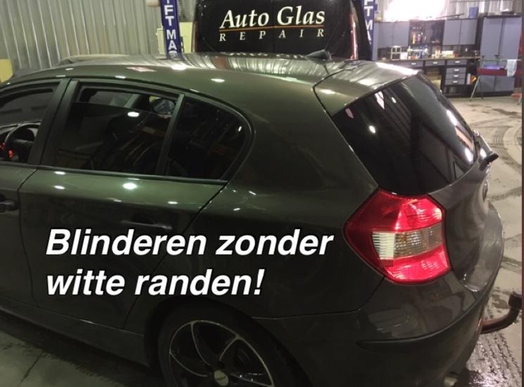Autoruiten tinten of blinderen - Prijs raamfolie plaatsen Antwerpen