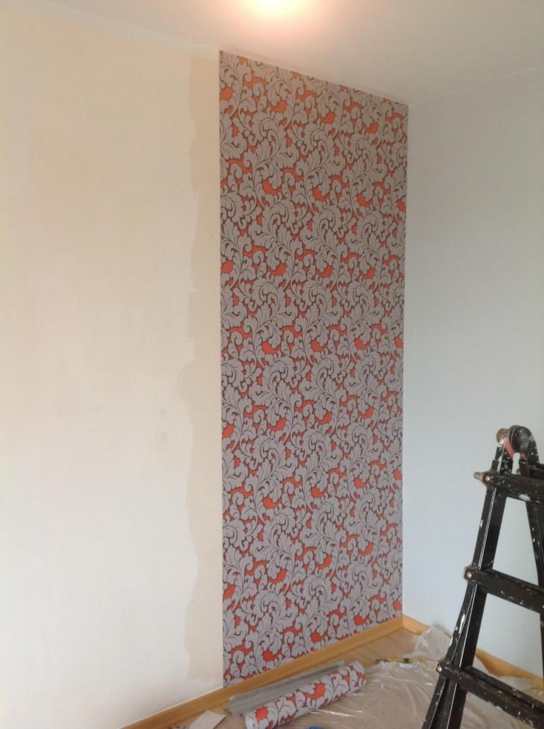 Kosten behangen gallery of inspiratie with kosten for Renovlies zelf aanbrengen